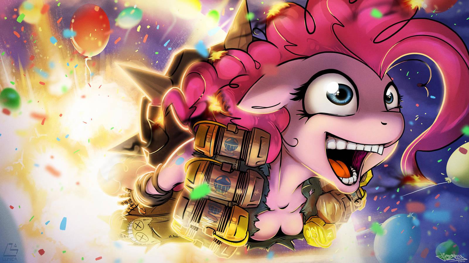 Pinkie Pie Highlight! by FidzFox
