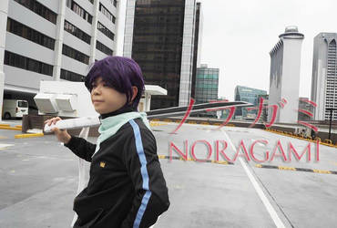 Yato from Noragami 4 by Heatray2009