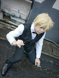 Shizuo from DRRR 2 by Heatray2009