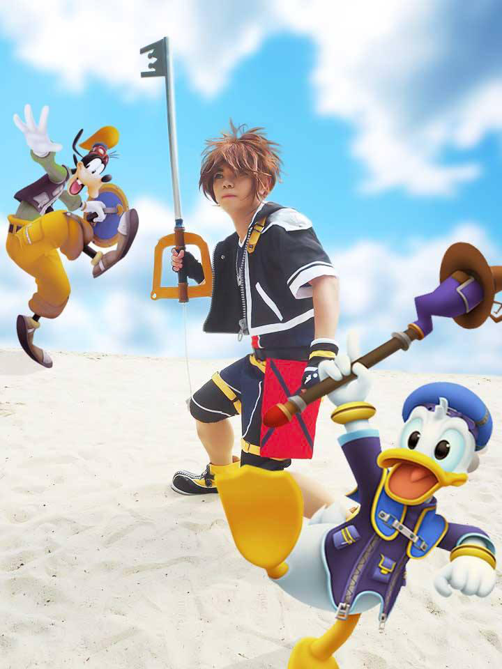 Sora from Kingdom Hearts 2 (2) by Heatray2009