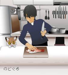 Jun's Kitchen with Nodoguro by BillyJoeWasHere