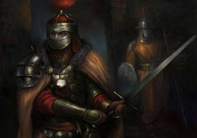 Baldur's Gate: Soldiers of Amn by IgorLevchenko