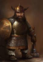 Dwarf mauler by IgorLevchenko