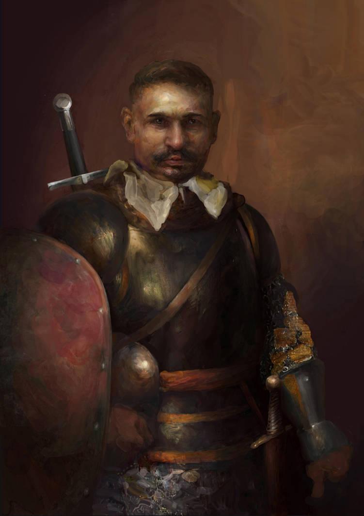 RPG character portrait by IgorLevchenko