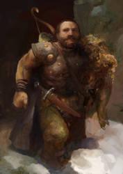 Icewind dale: Dwarf ranger by IgorLevchenko