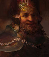 Dragon Age Bhelen Aeducan king of Orzammar by IgorLevchenko