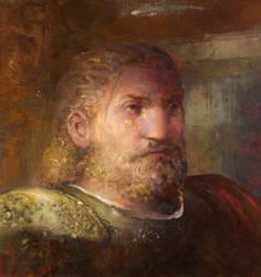 Dragon age Portrait of Prince Trian by IgorLevchenko