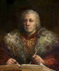 Oblivion Portrait of Emperor Uriel Septim by IgorLevchenko