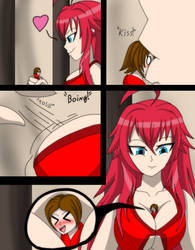 Rias's Tiny Pet page 2 by OGHAlienGTS