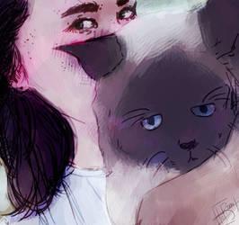 My friend  by MELAMIZ
