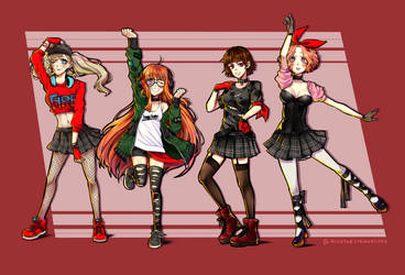 P5_ Dancing Star Night by NisoTheStrawberry