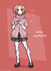 HARU OKUMURA by NisoTheStrawberry
