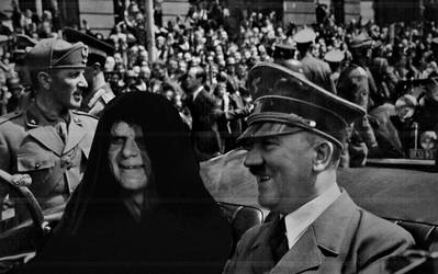 Hitler and Palpatine 1940 by abh83
