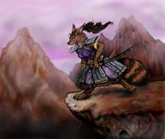 Ninjara from 'Ninja Turtles' by Miki-