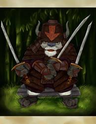 Avatar TLA - Warrior Appa by Miki-