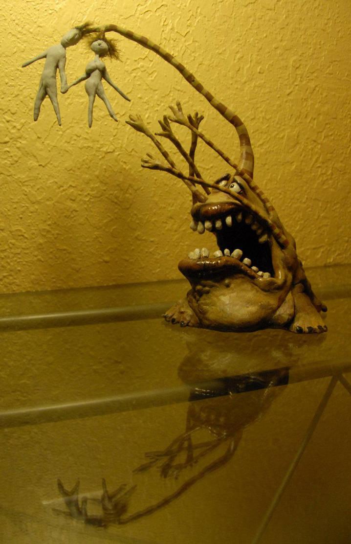 Tim Burton's Tortured Monster by Miki-