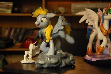 MLP - Derpy Sculpture! by Miki-