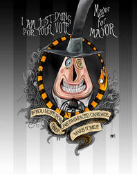 TNBC Dying for your Vote - Halloweentown Mayor by Miki-