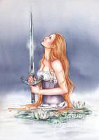The Lady by JannaFairyArt