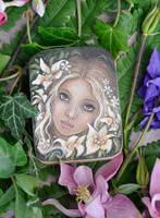Flower Nymph by JannaFairyArt