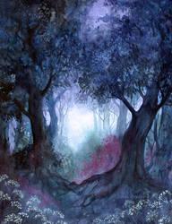 Forgotten Garden by JannaFairyArt