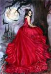 Red Queen by JannaFairyArt