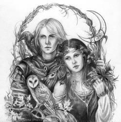 Faerie by JannaFairyArt