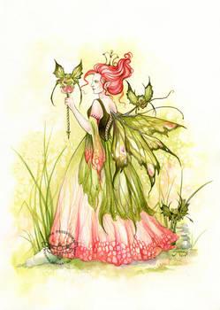 Queen of Marshes by JannaFairyArt