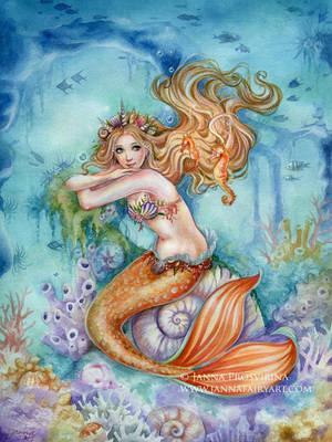 Under the Sea by JannaFairyArt