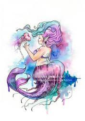 Jellyfish by JannaFairyArt