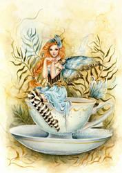 Not Your Cup of Tea by JannaFairyArt