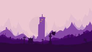 Lavander town... by Dark-Indigo
