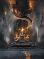 Lords of fire... by Dark-Indigo