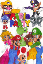 Mario Party by kcjedi89