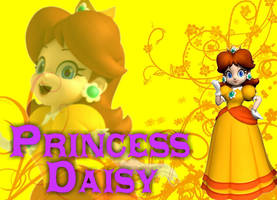 Princess Daisy Wallpaper 2 by kcjedi89