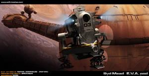 Syd Mead EVA pod .... by RAF-MX