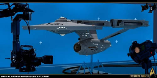 Enterprise Phase II....ready to go on cam !!! by RAF-MX