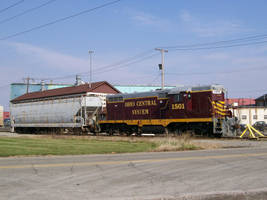 Ohio Central 1501 At Rest by LDLAWRENCE