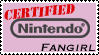 Nintendo Fangirldom Stamp by Tenn1502
