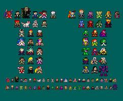 8-bit Ultimate Marvel vs Capcom 3 by RieyTails