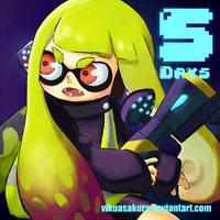5 Days SPLATOON by Viku-Asakura