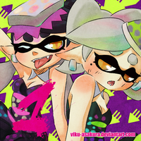 1 Day SPLATOON by Viku-Asakura