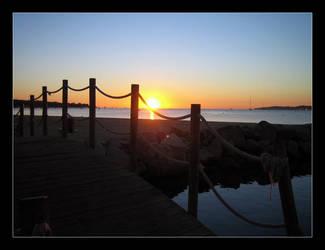 Sunrise Bay by TacKilla