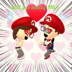 Will you marry Mii?  by AngelofGoddessAplis