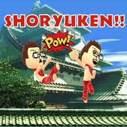Mii SHORYUKEN!!  by AngelofGoddessAplis