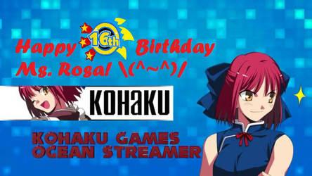 Kohaku Games' Birthday Livestream Image by AngelofGoddessAplis