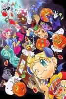 Happy Halloween in castle Osohe by Arashi-H