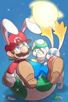 BunnyMario by Arashi-H