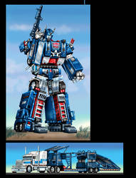 Movie Concept Ultra Magnus 2 by Prowler974