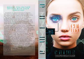 Enima-BOOK JACKET by Dystopian-Sirpent